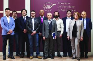 Consiglio di Amministrazione  del Consorzio Prosciutto di SanDaniele. Giuseppe Villani nuovo presidente.