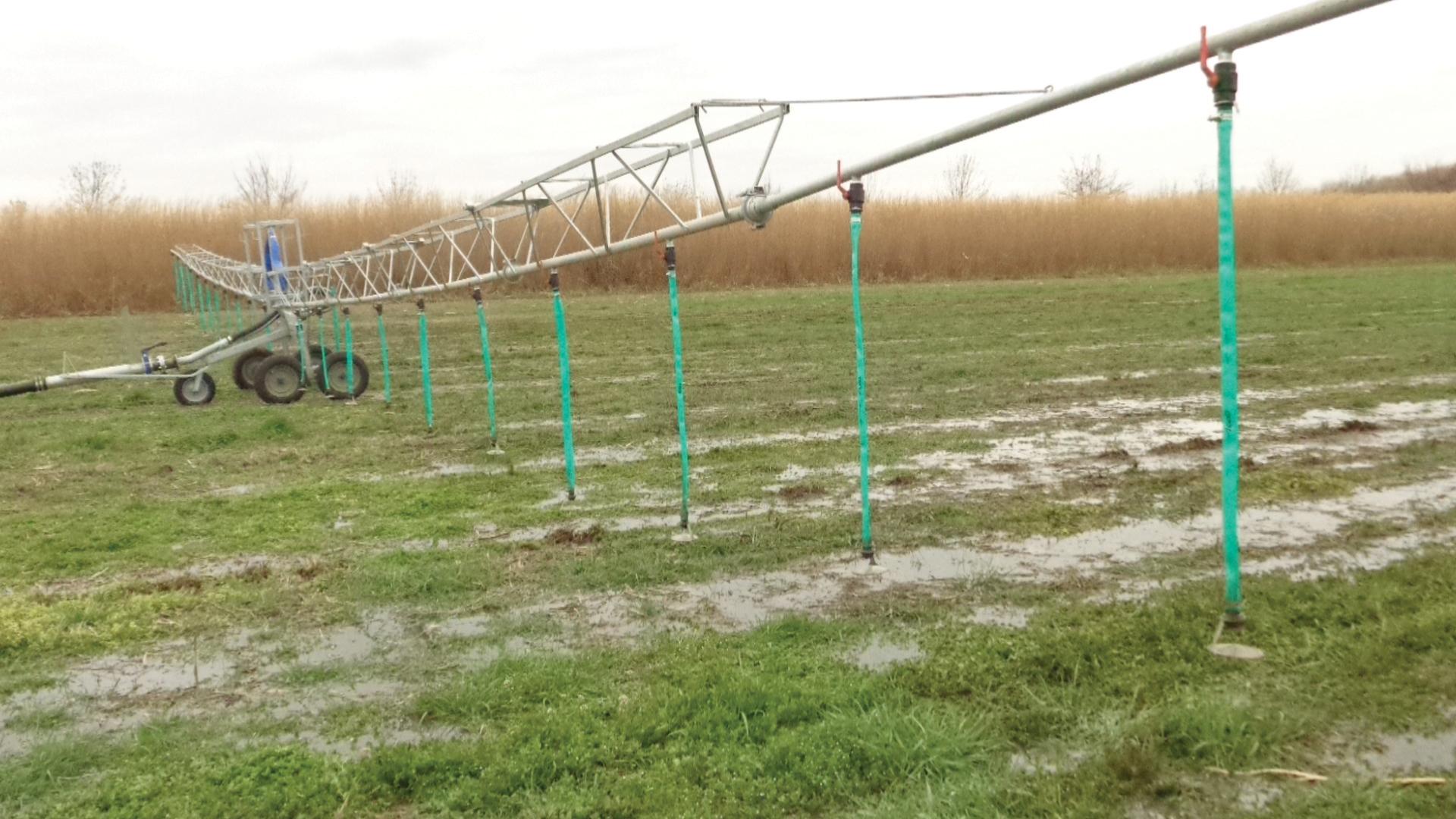 Dall ersaf tecniche di spandimento rivista di suinicoltura for Irrigazione per aspersione
